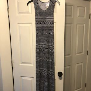 BCBGeneration maxi dress with back cutout